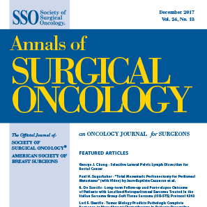 Annals of Surgical Oncology Cover